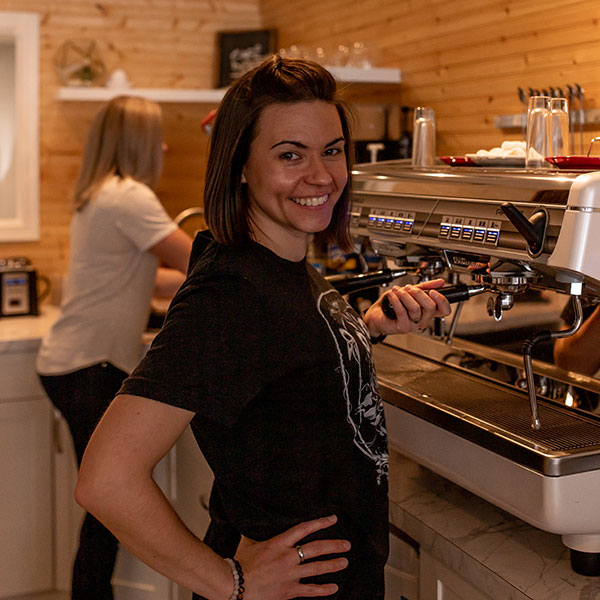 Rise + Grind Espresso Jess